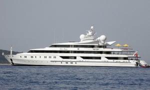 Vijay Mallya's Indian Empress superyacht features a 15-seat cinema and Sir Elton John's baby grand piano.