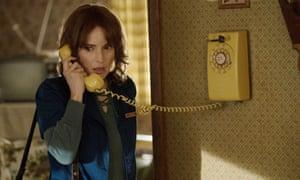 Winona Ryder in Stranger Things.
