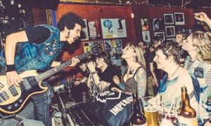 Punk band Radkey at Night and Day Cafe