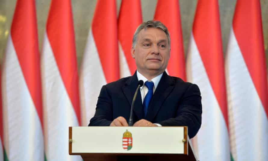 Hungarian prime minister, Viktor Orbán