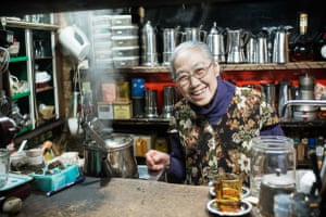 Another coffee shop owner in her late 80s