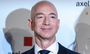 Jeff Bezos in Berlin, Germany, on 24 April 2018.