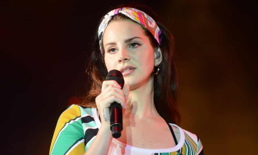 'Glossy nihilism, delivered with a wink': Lana Del Rey.