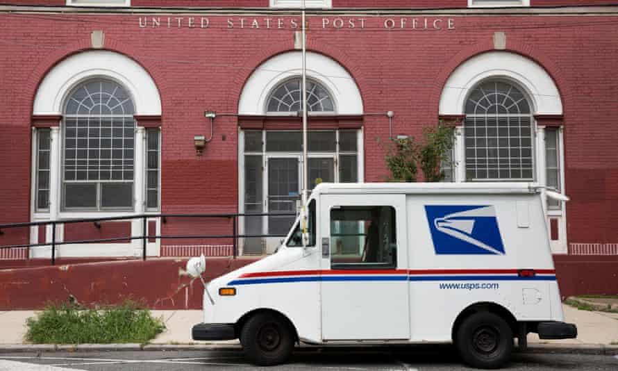 A post office in Philadelphia, Pennsylvania.