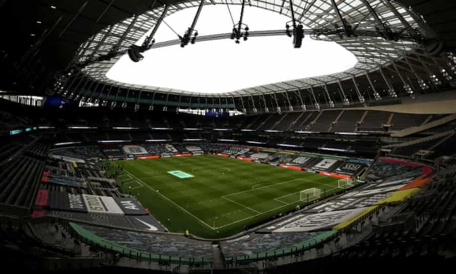 General view of Tottenham Hotspur Stadium