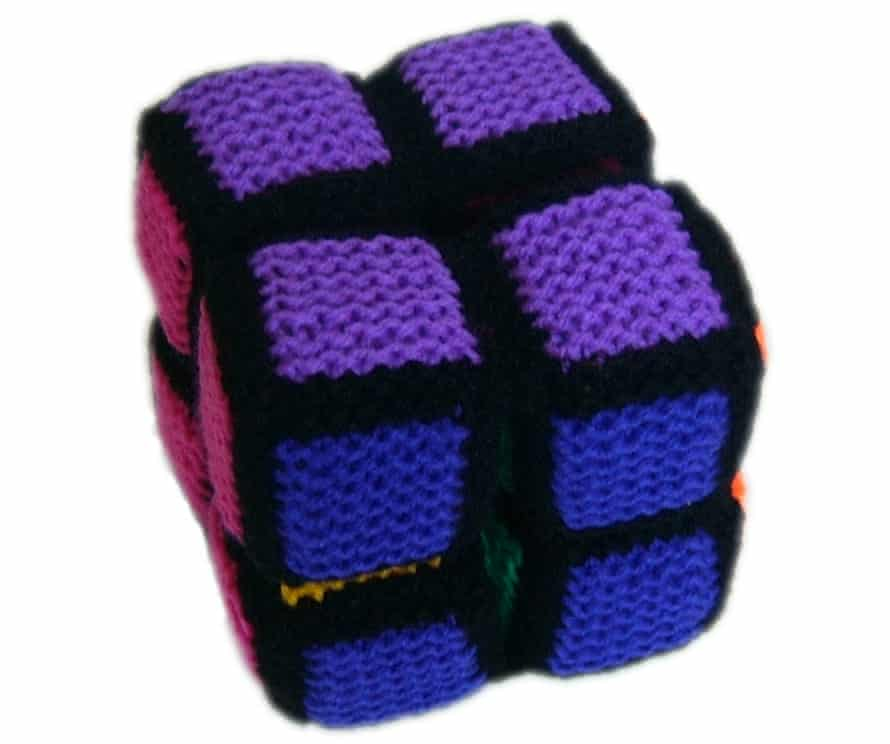 String theory: a crochet version of a geometrical toy.