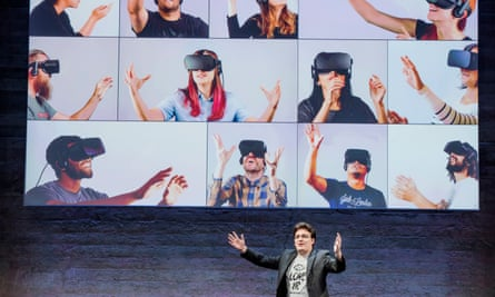 Palmer Luckey, co-founder of Oculus.