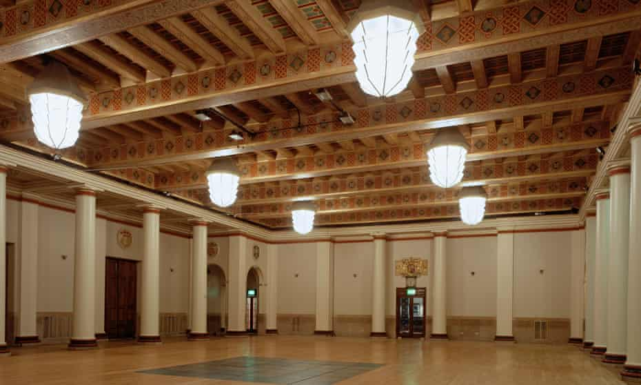 The City Hall ballroom in Sheffield.