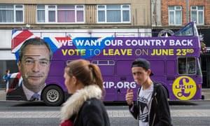 Ukip's campaign bus.