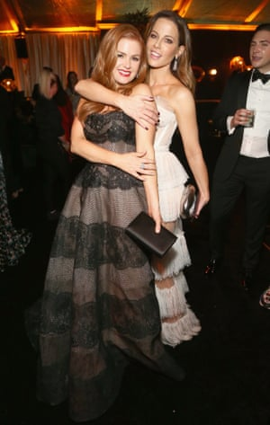 Isla Fisher and Kate Beckinsale at the Netflix After Party.