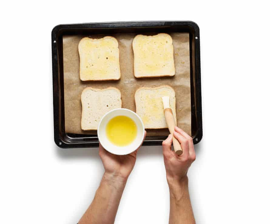 The perfect croque monsieur step 2