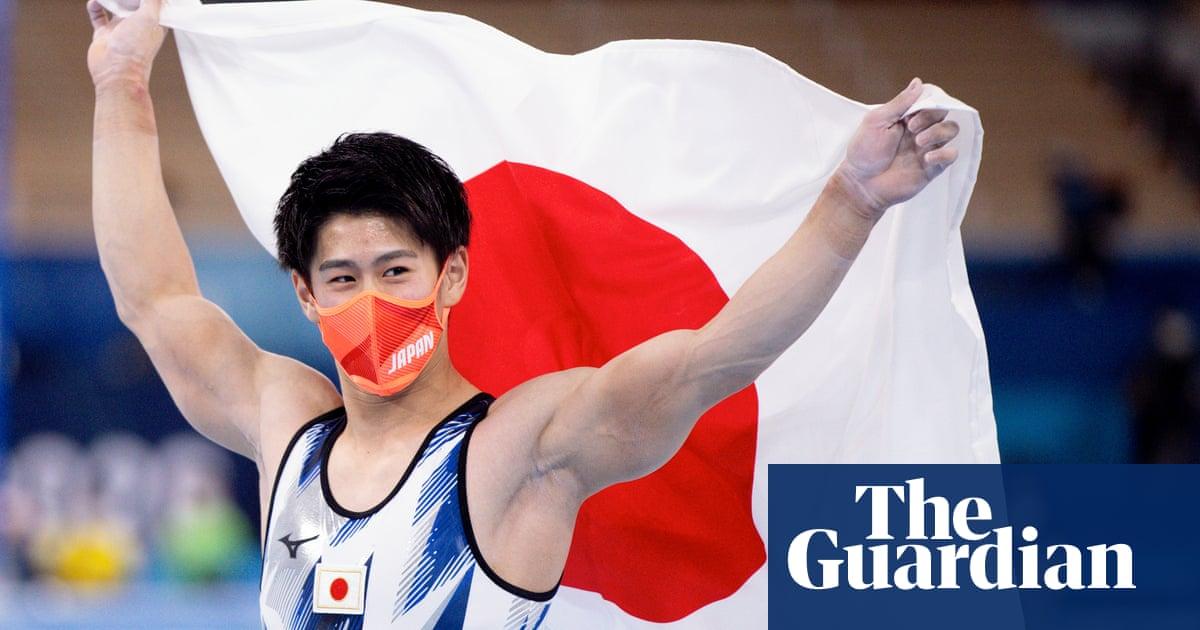 Daiki Hashimoto is hosts' gymnastics hero as GB's Joe Fraser falls short