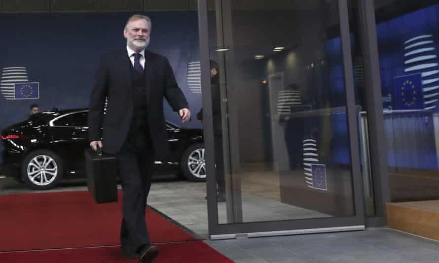 Sir Tim Barrow, UK Permanent Representative to the EU