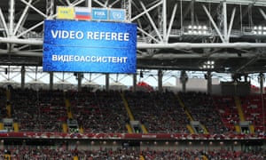 VAR was used at the Confederations Cup in Russia last year.
