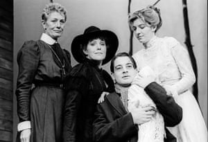 Vanessa Redgrave, Lynn Redgrave, Jeremy Northam and Jemma Redgrave in Three Sisters at Queens theatre, directed by Robert Sturua.