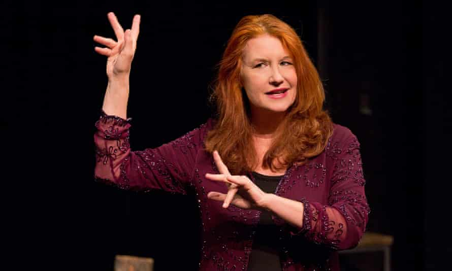 Karen Finley performs Written in Sand