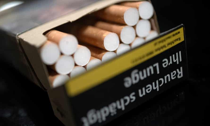 A pack of cigarettes in Vienna