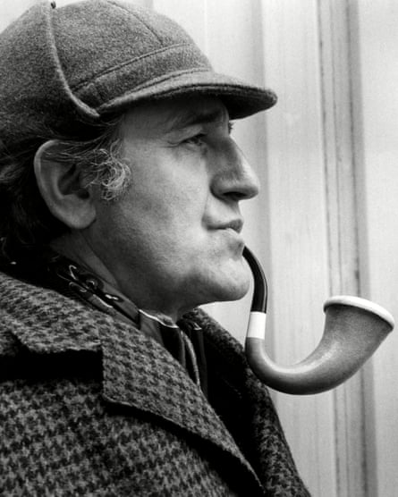 Douglas Wilmer as Holmes in the 1975 Gene Wilder film The Adventure of Sherlock Holmes' Smarter Brother.