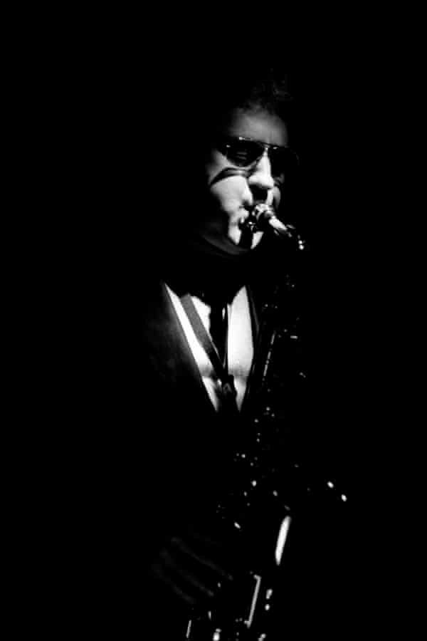 Lee Konitz playing at Ronnie Scott's in Soho, London, 1986.