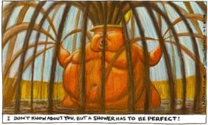 Steve Bell cartoon 14.8.20
