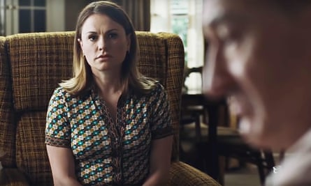Subtly revolutionary … Anna Paquin with Robert De Niro in The Irishman.