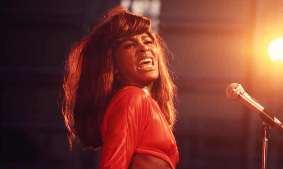 Undeniable singularity ... Tina Turner performs in Manhattan's Central Park, 1969.