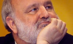 Frank Dobson at a Labour party meeting in 1999, during his time as health secretary.