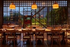 Charcoal Restaurant, Bangkok, Thailand