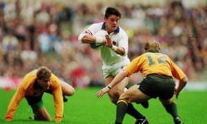 Will Carling, in the 1991 World Cup final, is back in the England team.