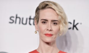 'I have the great good fortune of being with someone who is older and wiser than I am' ... Sarah Paulson.