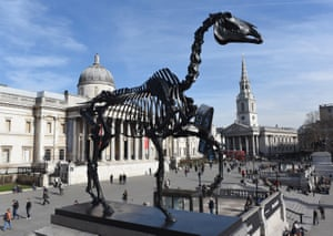 Gift Horse by German artist Hans Haacke on the fourth plinth in 2015