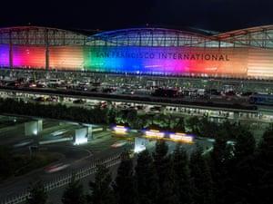 California, US San Francisco International Airport honours Pride celebrations