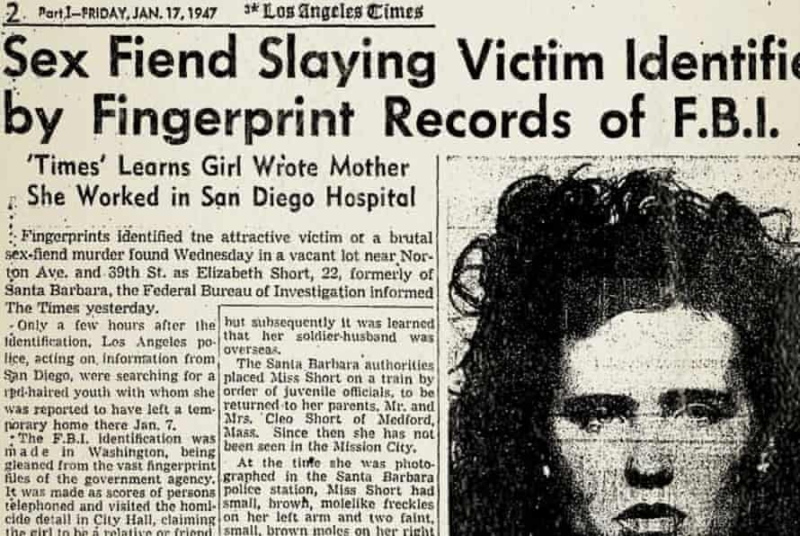 A newspaper article on Short's death.