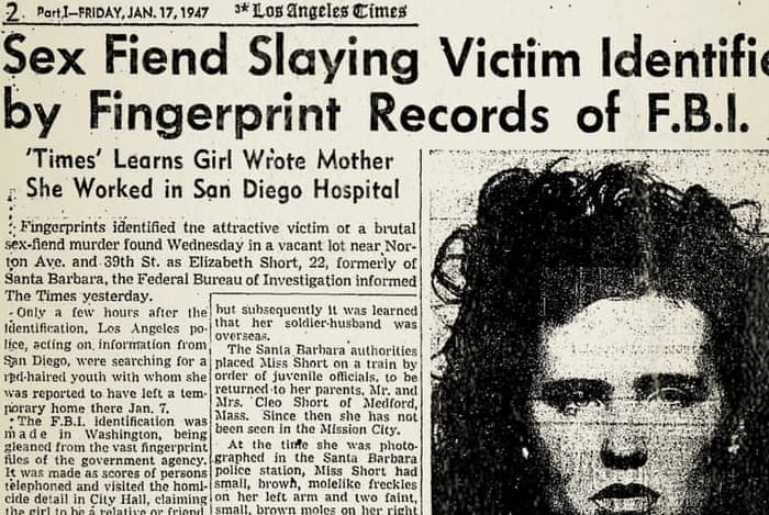 I know who killed the Black Dahlia: my own father | US news