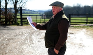 Colin Tizzard at his stable