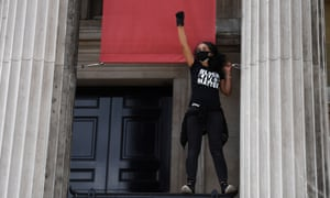 Black Lives Matter protest in London 13 June 2020