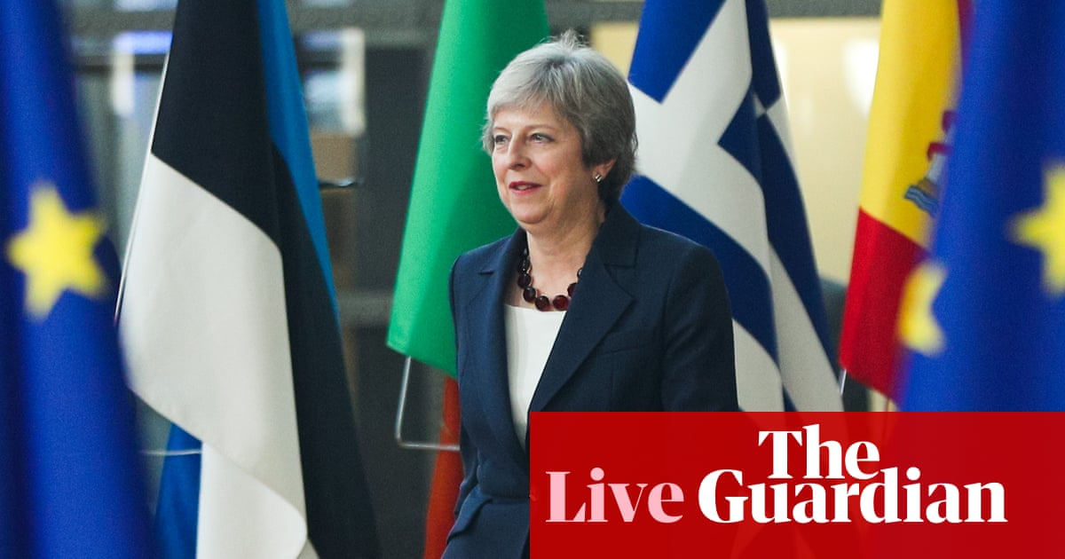 Brexit: May faces angry backlash from MPs over proposals for transition and 'meaningful vote' - Politics live