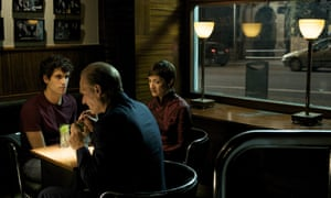 A scene from Broken Embraces, in Bar Cock