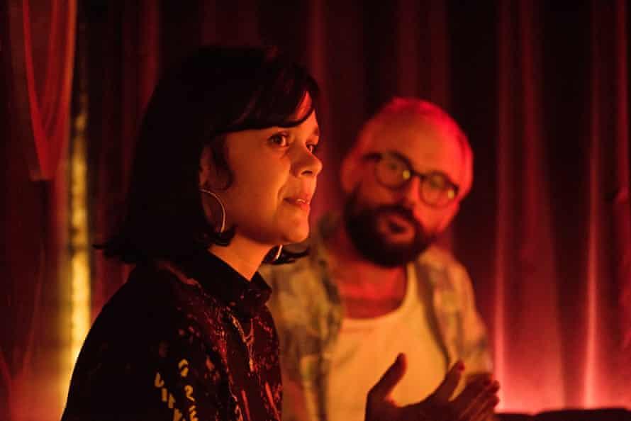 Natasha Khan and Joe Talbot at SUPERMAX in King's Cross, London