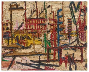 Frank Auerbach, Mornington Crescent, 1965