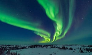 The northern lights at Churchill.