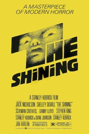 The Shining poster art, 1980.