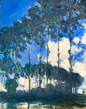 Poplars on the Epte, Claude Monet, 1891