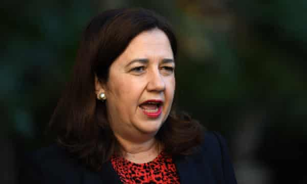 Queensland premier Annastacia Palaszczuk called for the Extinction Rebellion demonstrations to stop