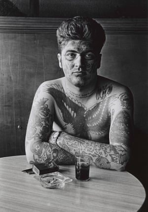 Jack Dracula at a Bar, New London, Connecticut, 1961, part of a new exhibition.