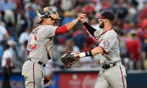 Bryce Harper: he likes to celebrate. And why not?