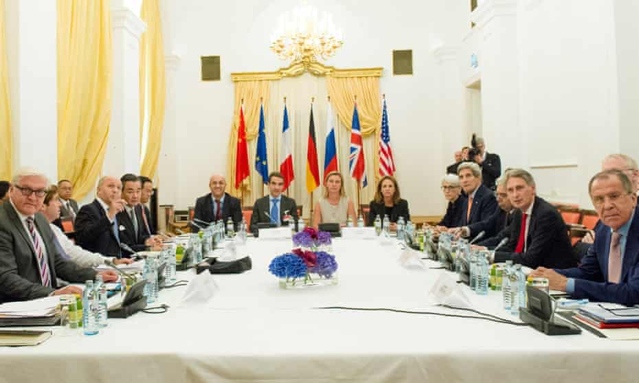 Leaders assemble to continue the Iran nuclear talks.