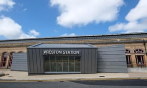 A rival nominee for the unwanted prize ... Preston railway station's Butler Street entrance