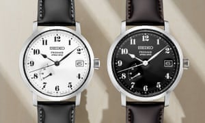 The influence of the Riki Steel Clock is seen in the watch designs