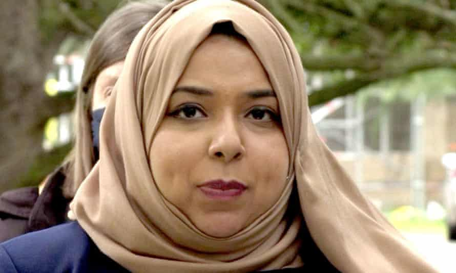 Apsana Begum outside Snaresbrook crown court, east London, on 30 July after being cleared of charges of housing fraud.